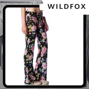 🐰 NWT WILDFOX Grunge Rose SilverLake Pants